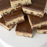 Chocolate Peanut Butter Cookie Bars Recipe