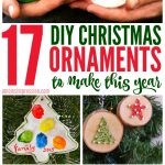 16 DIY Christmas Ornaments You and Your Kids Will Love to Make
