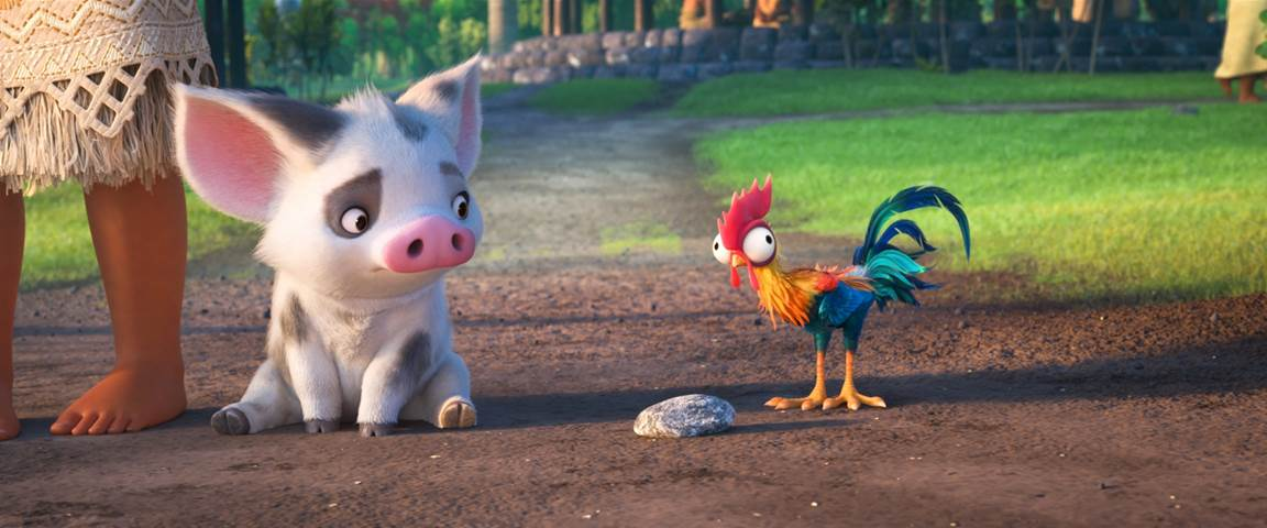 Pua and the crazy chicken