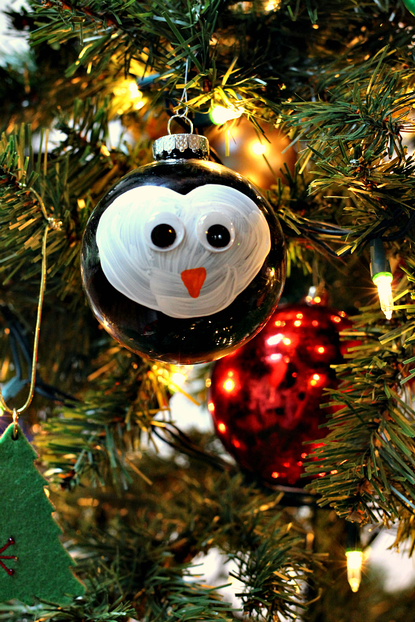 Penguin Ornament Christmas Craft