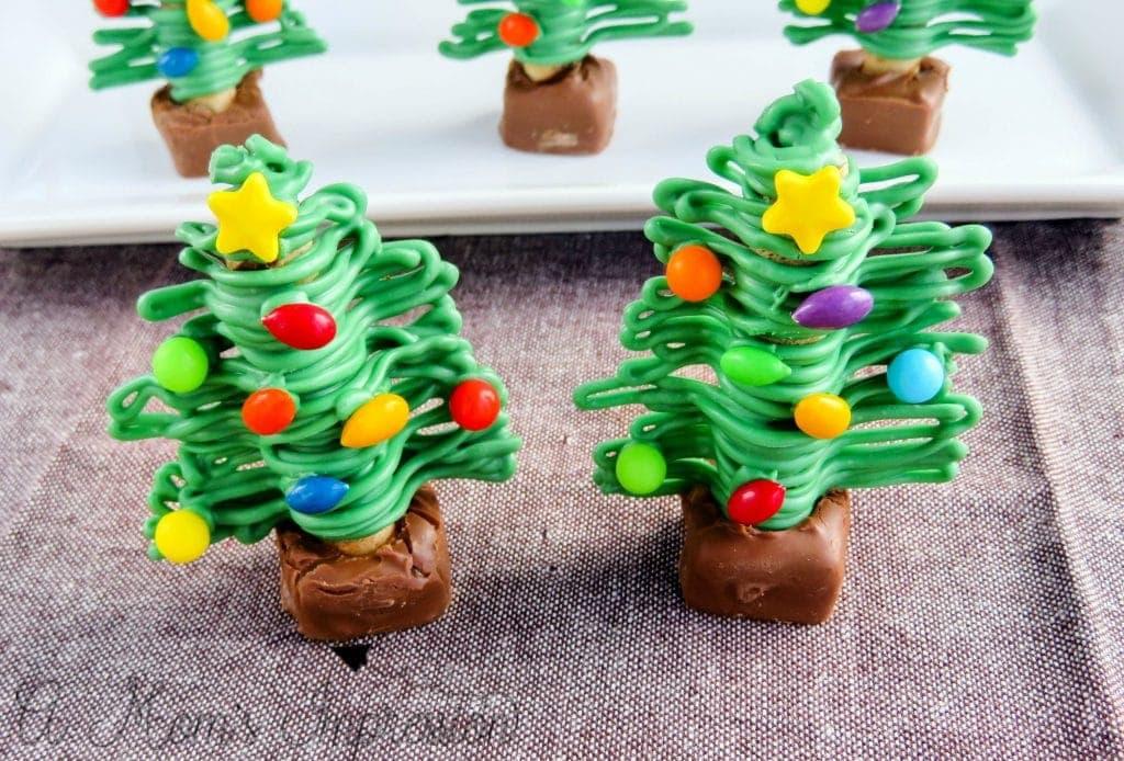 Christmas Tree Treats