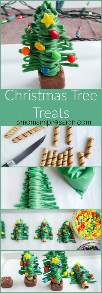Wondering how to incorporate more Christmas tree recipes into your Christmas this year? These Christmas tree treats are simple to make and look absolutely adorable!