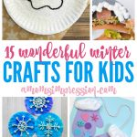 15 Winter Kids Crafts Ideas