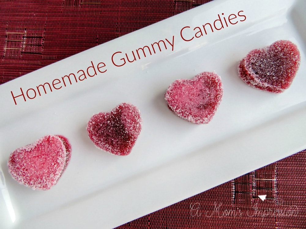 Homemade Gummy Candies
