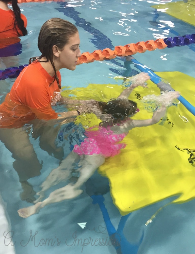 Indoor Swim Lessons for Kids