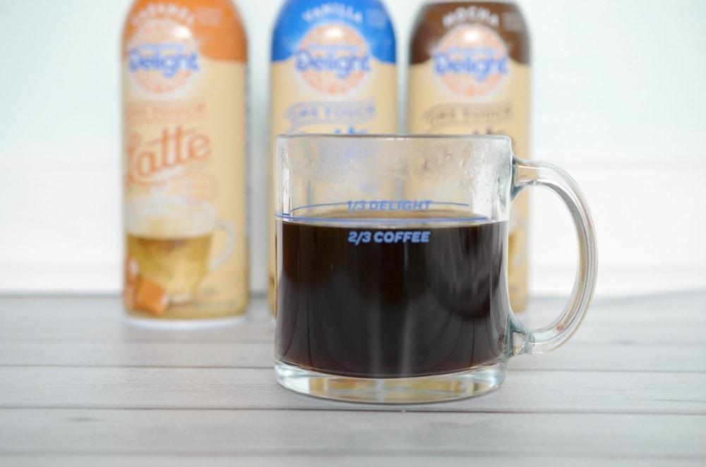 Homemade cafe latte recipe