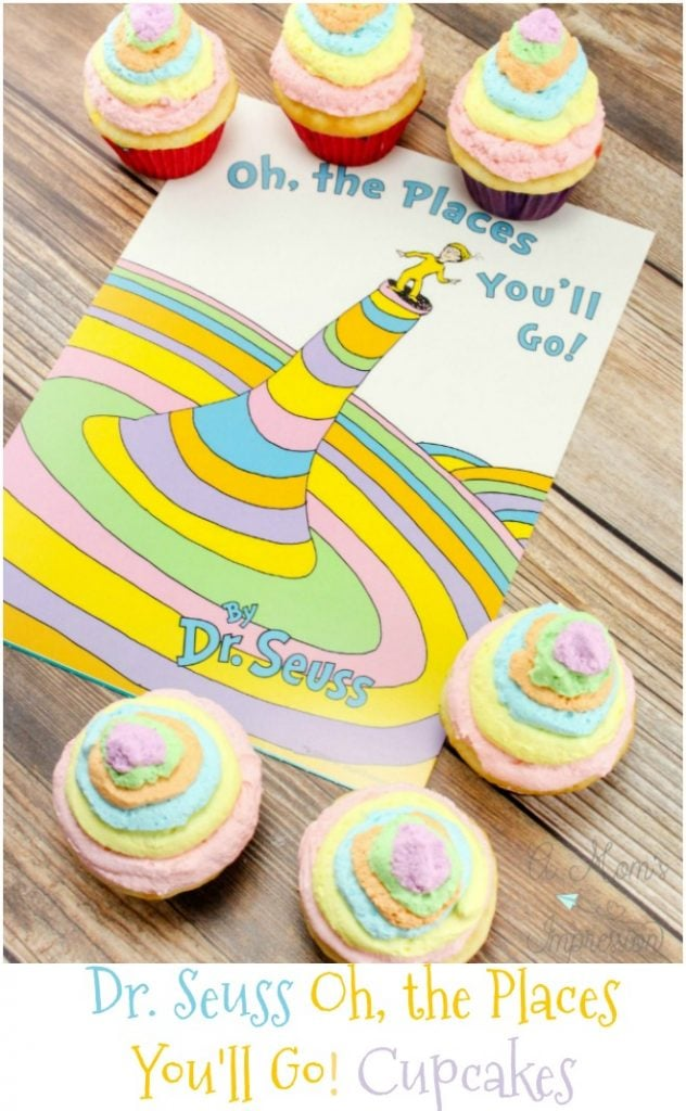Whether you're looking for Dr. Seuss birthday party ideas, or Dr. Seuss baby shower ideas, these Dr. Seuss cupcakes are sure to be a huge hit!