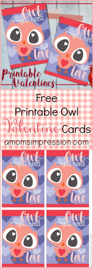 These printable Valentine's Day cards are perfect for those who love owls - they're a hoot! Make some DIY Valentine's Day cards this year and stand out from the crowd!