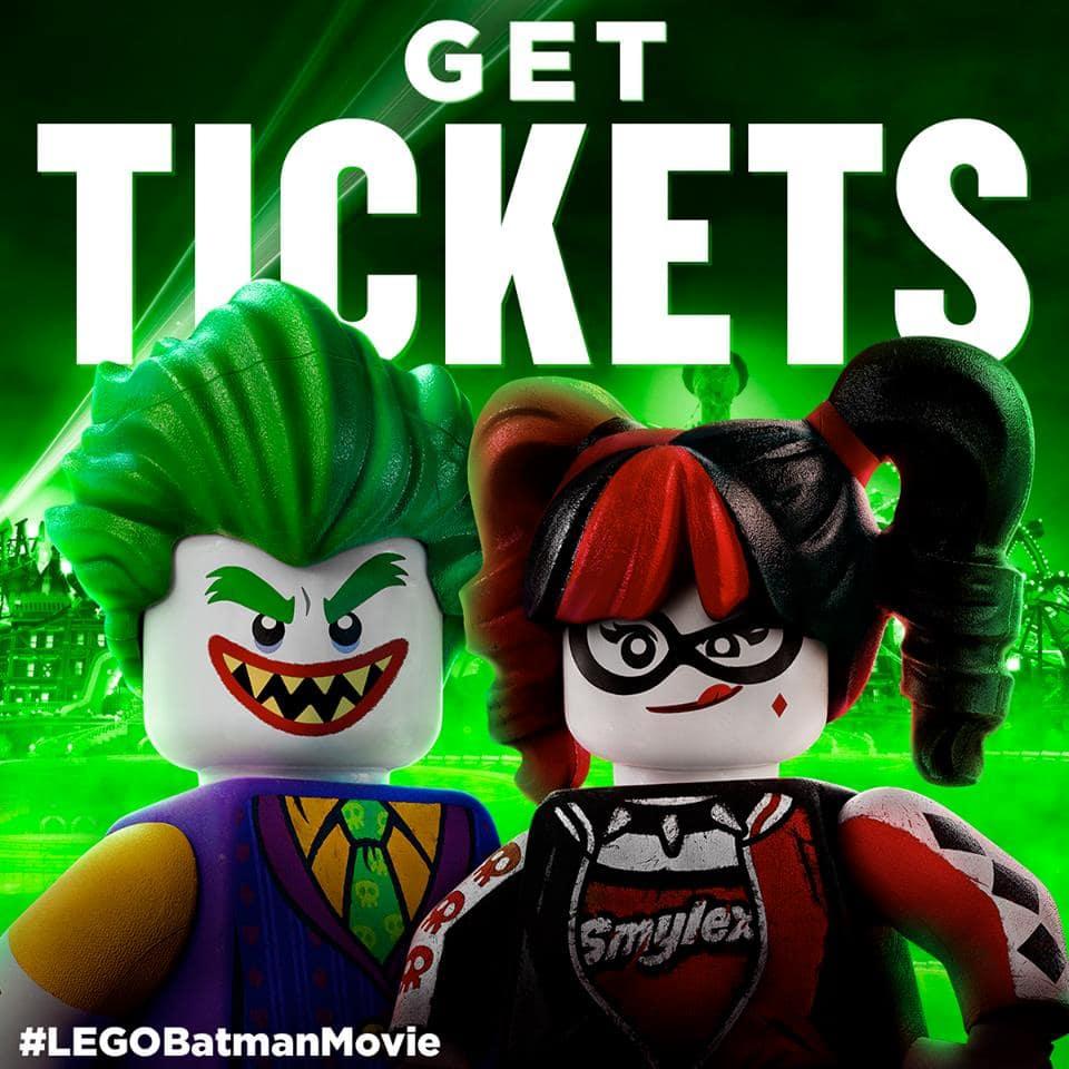 Get Lego Batman Tickets
