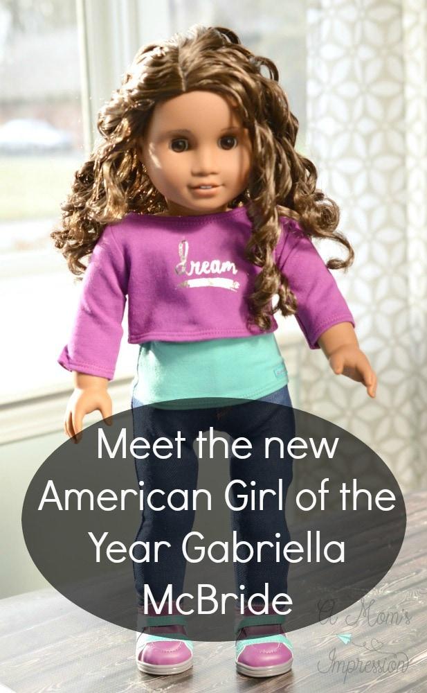 american girl doll year 2017 Gabriella