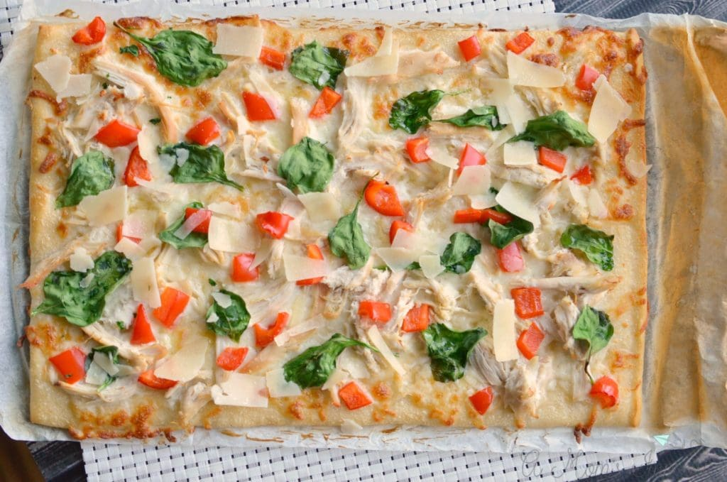 chicken alfredo pizza recipes