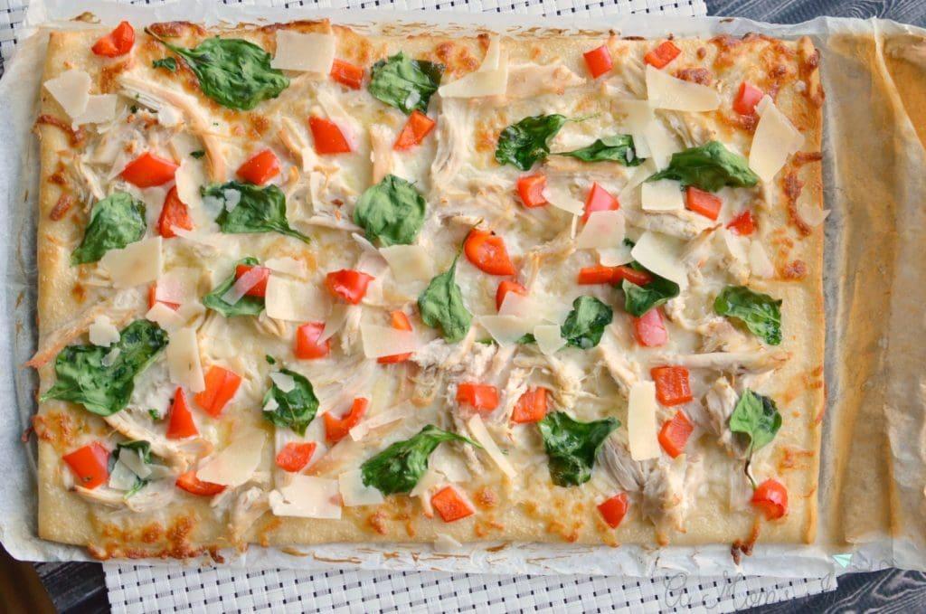 chicken alfredo pizza recipes