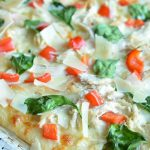 Easy White Chicken Pizza Recipe