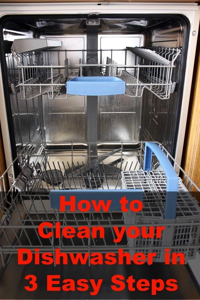 Cleaning Dishwasher Buildup