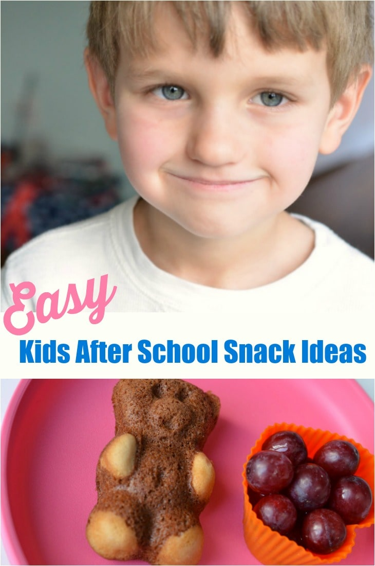 Easy Kids After School Snack Ideas