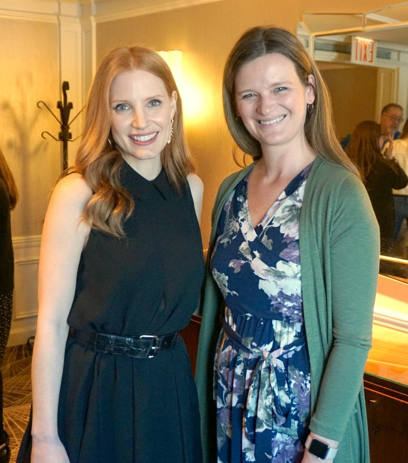The Zookeeper's Wife Film - Interview with Jessica Chastain and Niki Caro