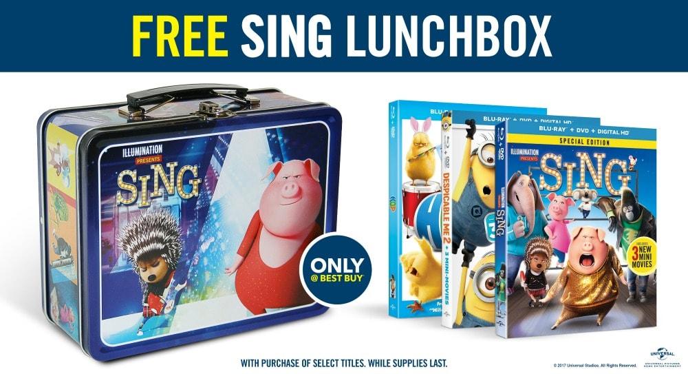 Sing Lunchbox
