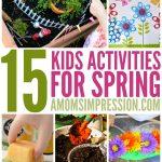 15 Fun Spring Activities for Kids
