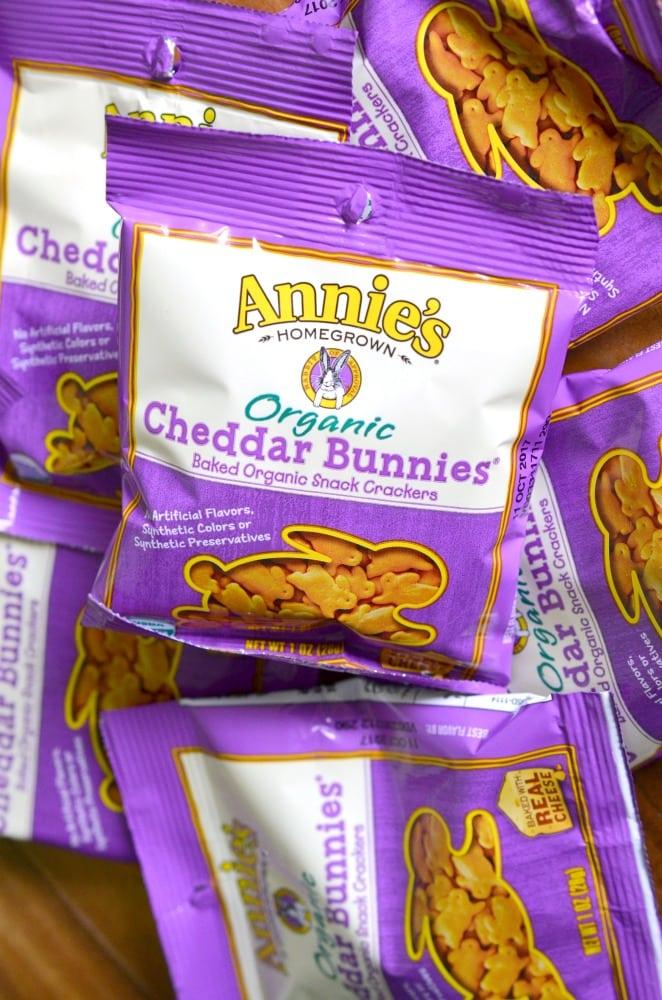 Annie's Cheddar Bunnies snacks