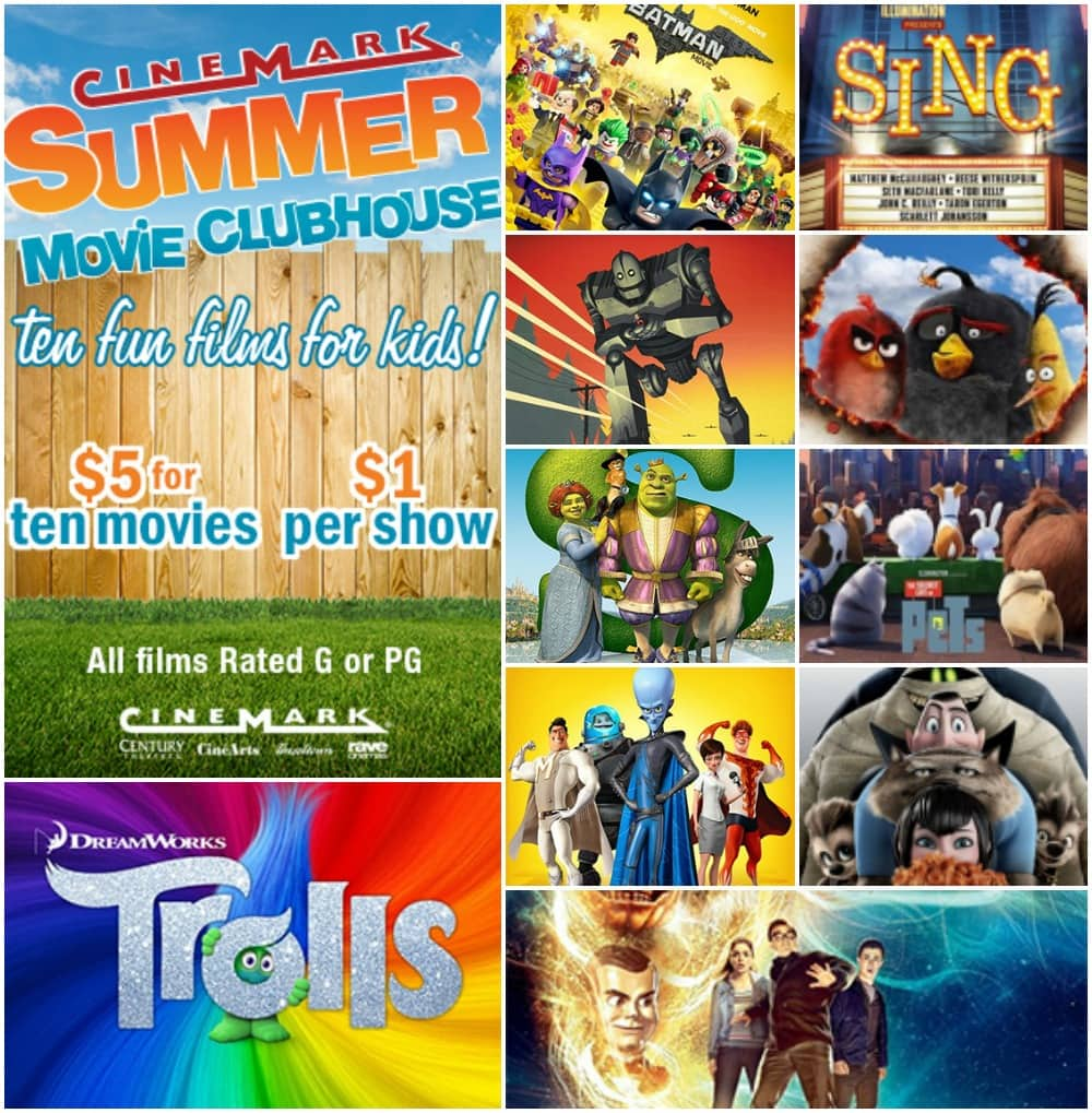 Cinemark $1 Movies