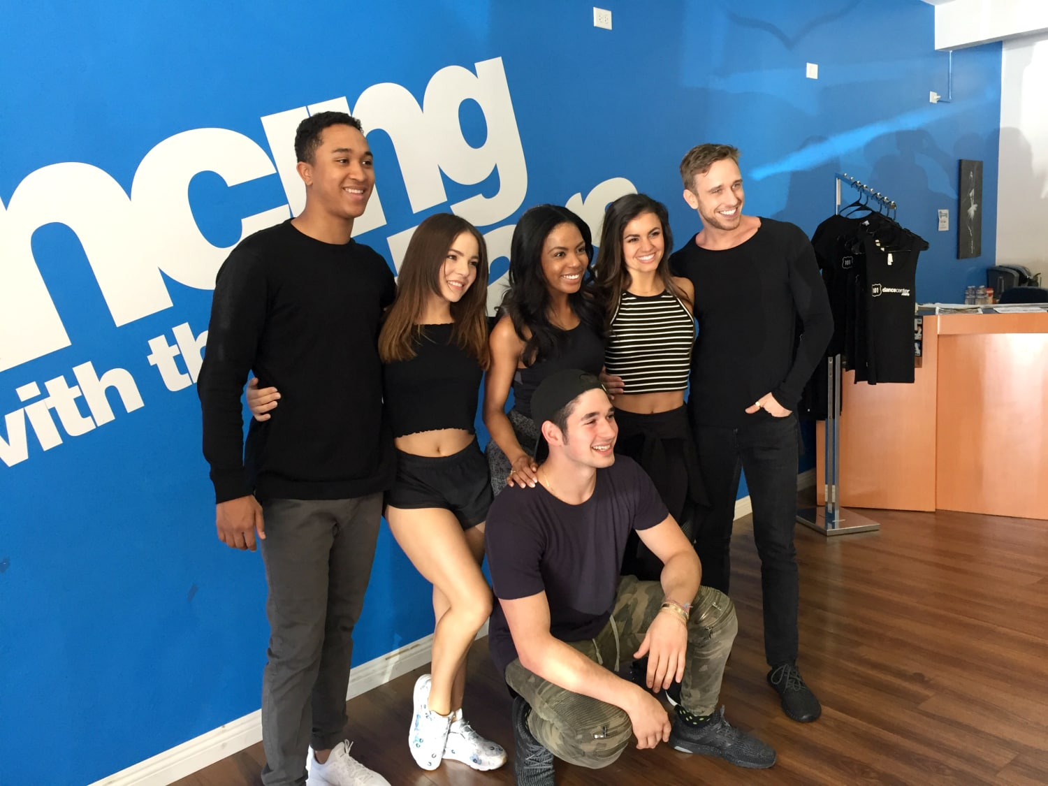 DWTS troupe members