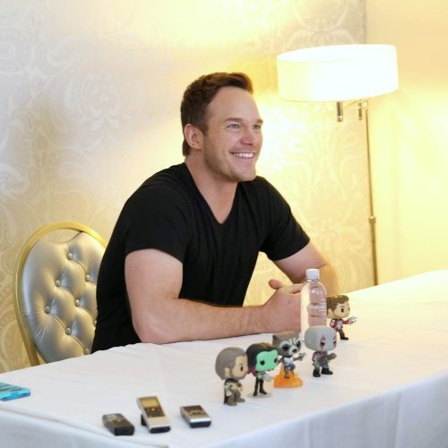 Interview with Chris Pratt on his role as Star-Lord in Guardians of the Galaxy Vol.2