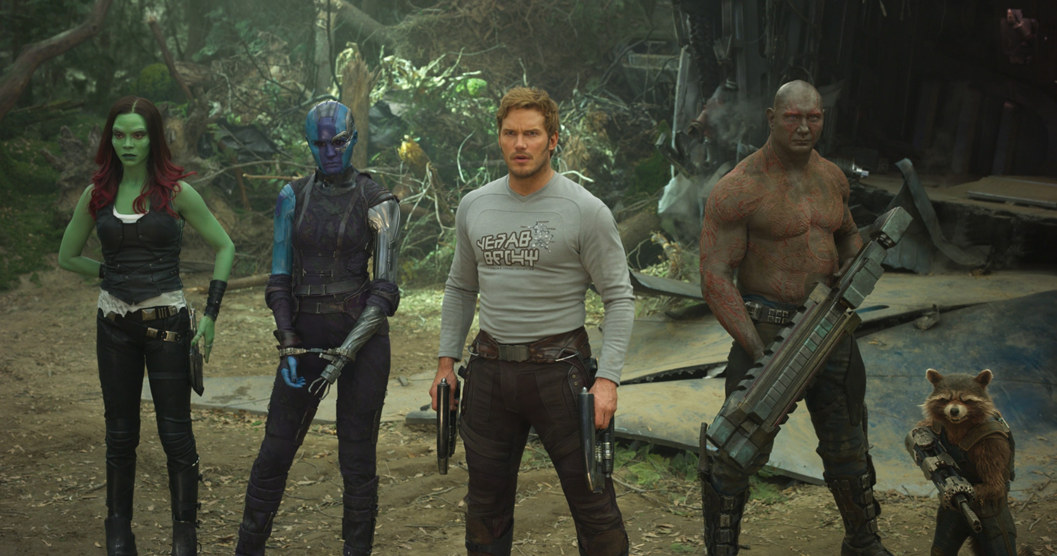 Guardians of the Galaxy Vol.2 Cast