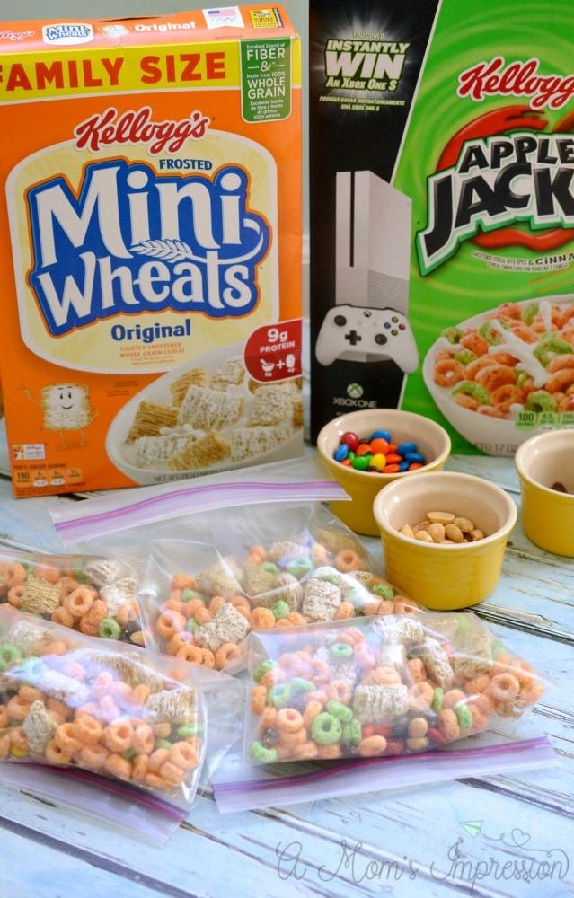 Kids Snack Mix Recipe