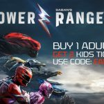 Get Free Power Rangers Movie Tickets from Atom Tickets