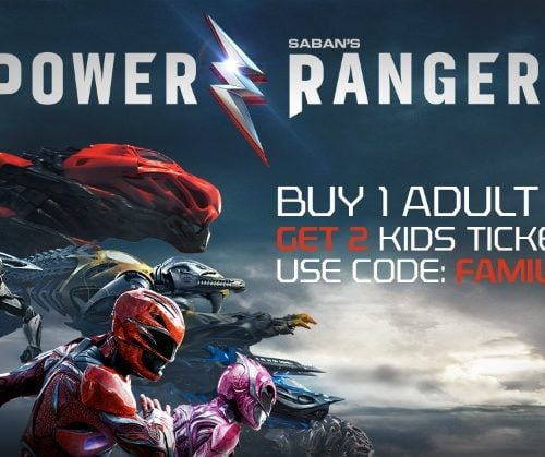 Power Rangers coupon