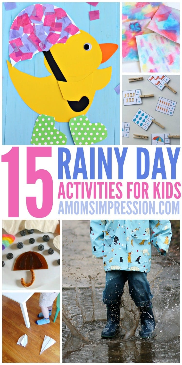 Rainy Day Activities Kids Will Love