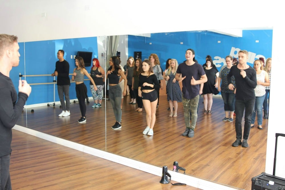 Salsa Dance Lesson with DWTS