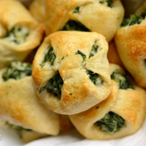 Spinach Crescent Roll Appetizers