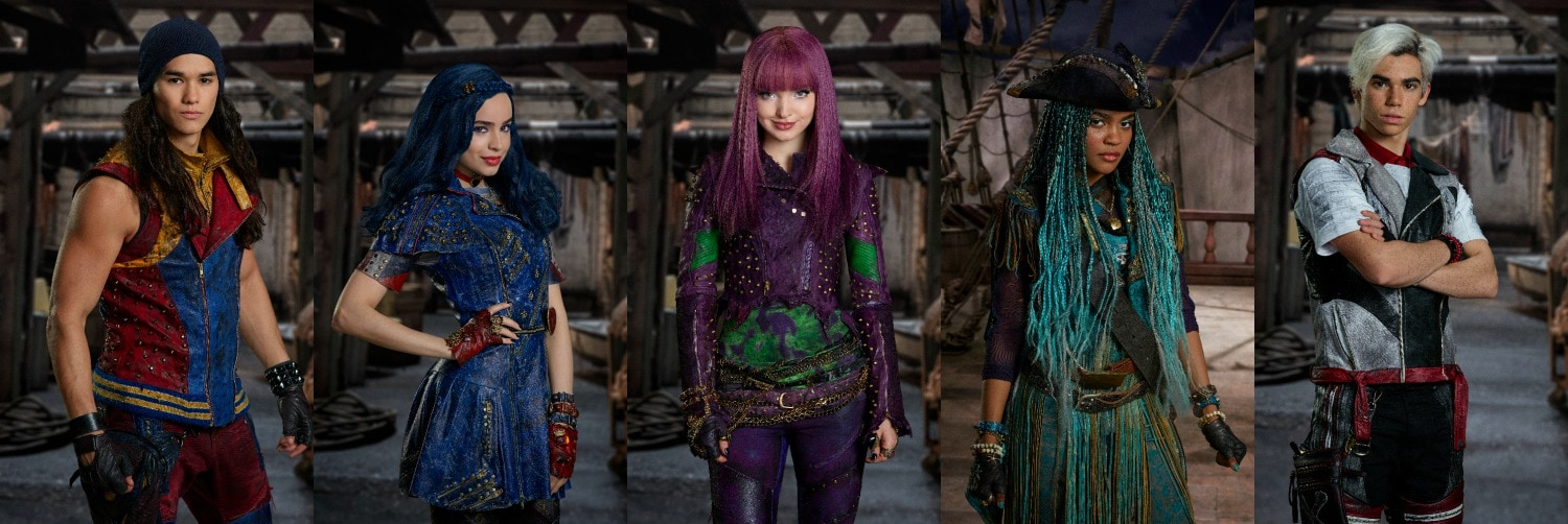 Stars of Descendants 2