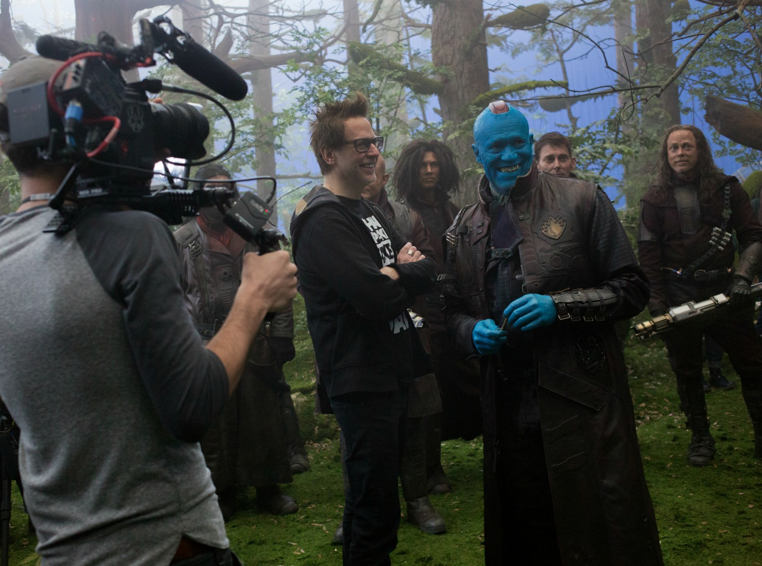 Behind the scenes GOTGVOL2