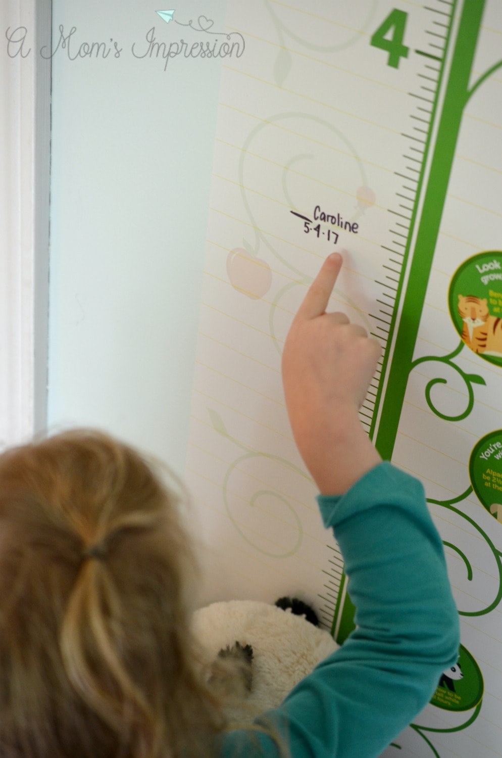 Growth charts for kids the best childrens keepsakes growth charts for kids nvjuhfo Gallery