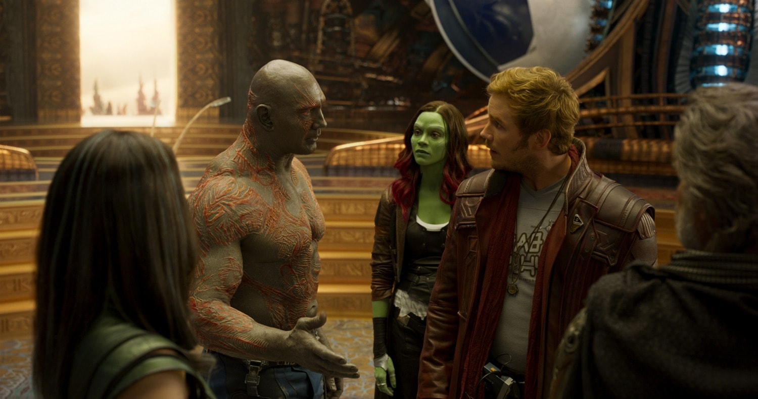 Drax and Guardians
