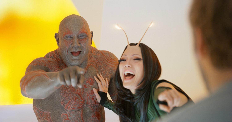 Drax and Mantas