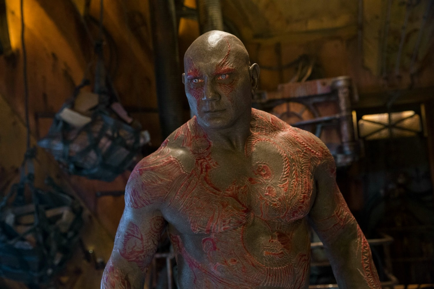 Drax with Tats gotgv2
