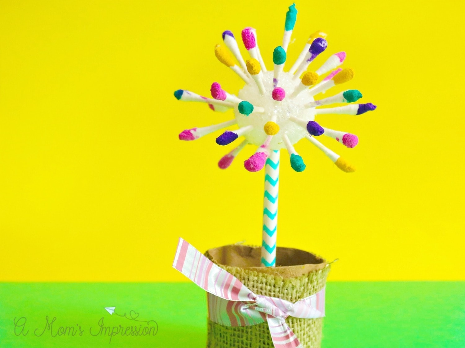 Easy Flower Crafts for Kids