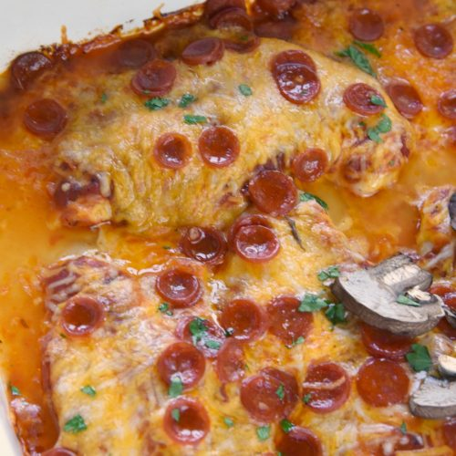 Low Carb Pizza Chicken Recipe