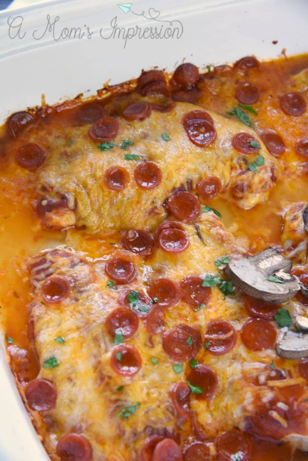Easy Low Carb Pizza Chicken Recipe
