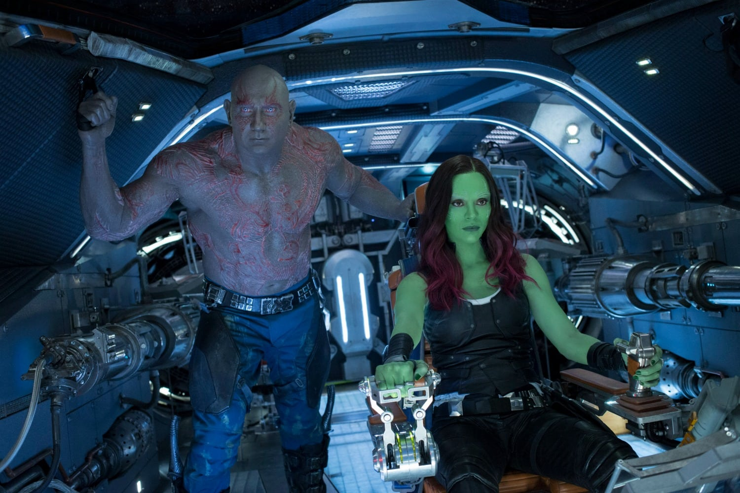Gamora and Drax