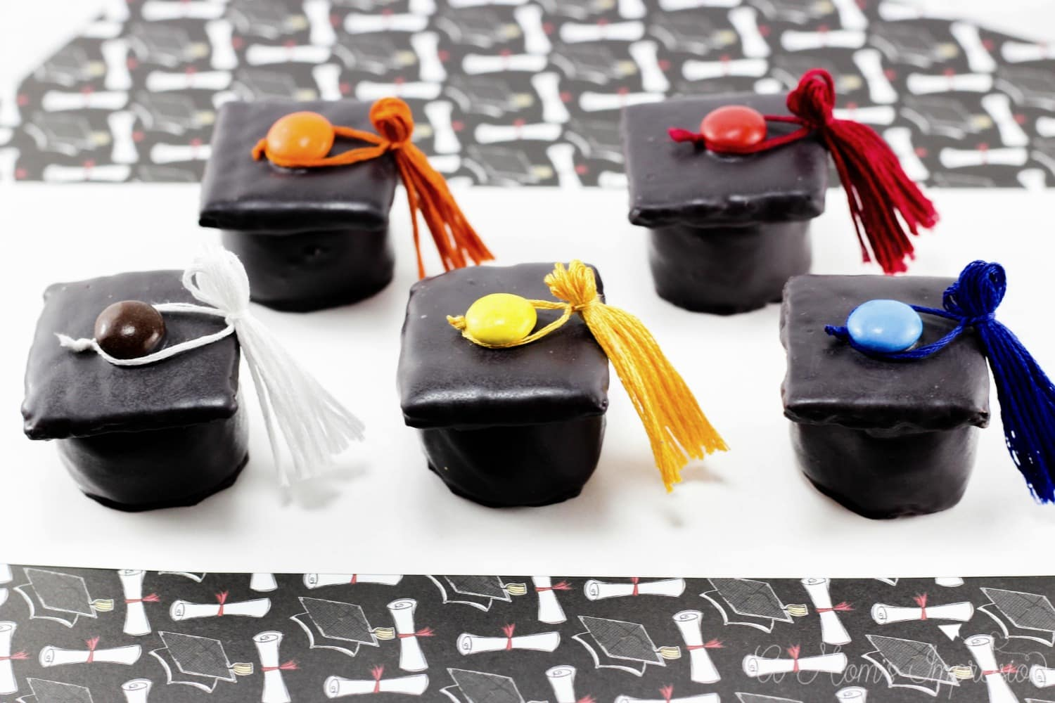 Graduation Cap Treats