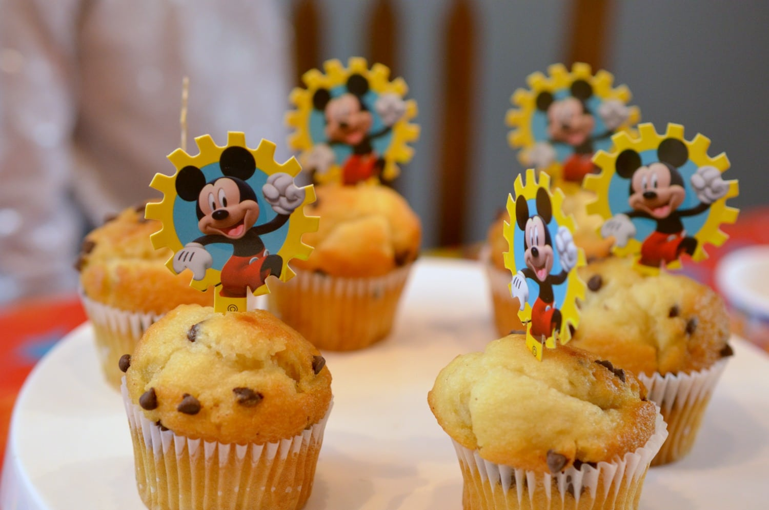 Mickey Muffin Toppers