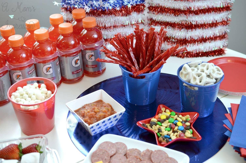 Patriotic snacks