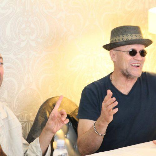 "Interview with Michael Rooker ""Yondu"" & Sean Gunn ""Kraglin"" from Guardians of the Galaxy Vol.2"