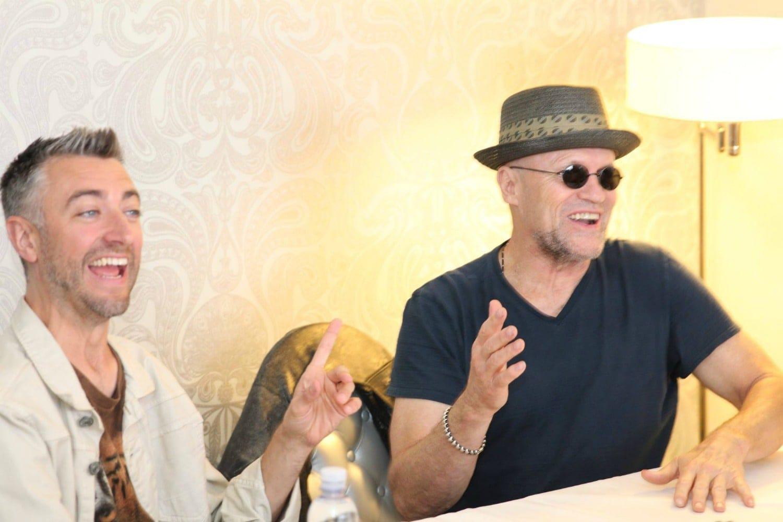 Sean Gunn & Michael Rooker