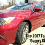 The 2017 Toyota Camry XLE – A Family-Friendly Sedan