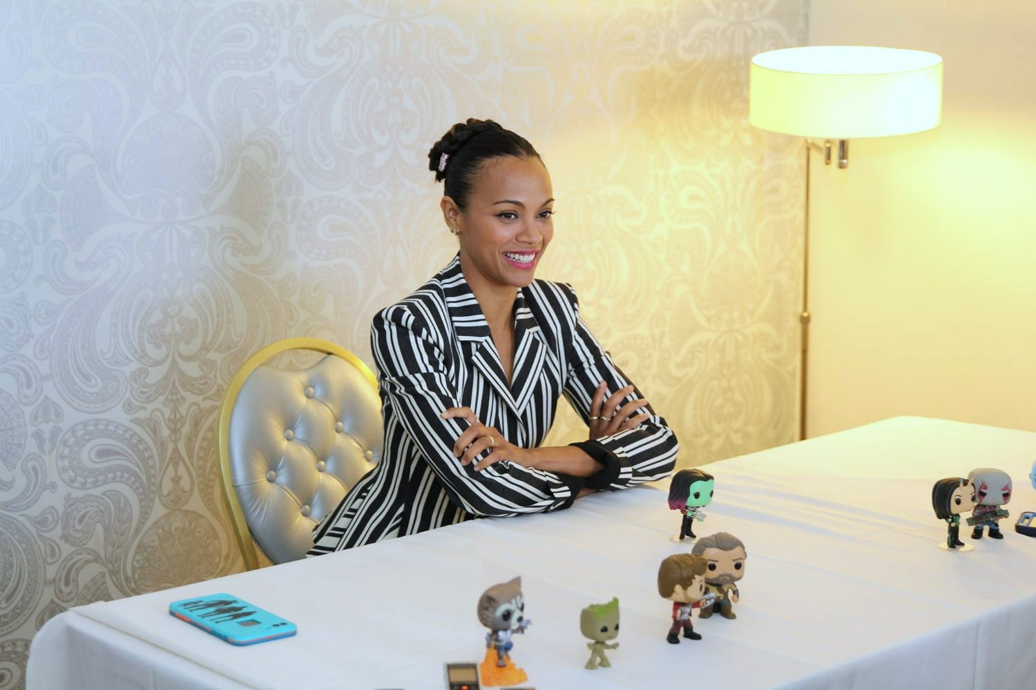 Zoe Saldana Interview